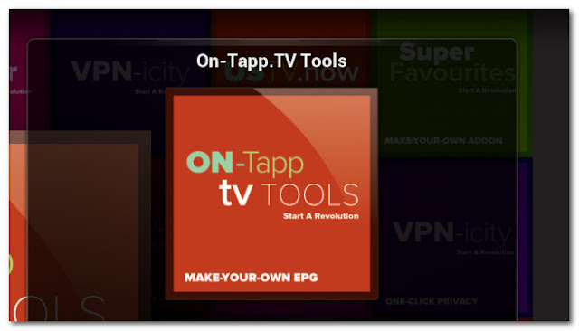 Programs - Add-ons On-Tapp.TV For IPTV XBMC | KODI