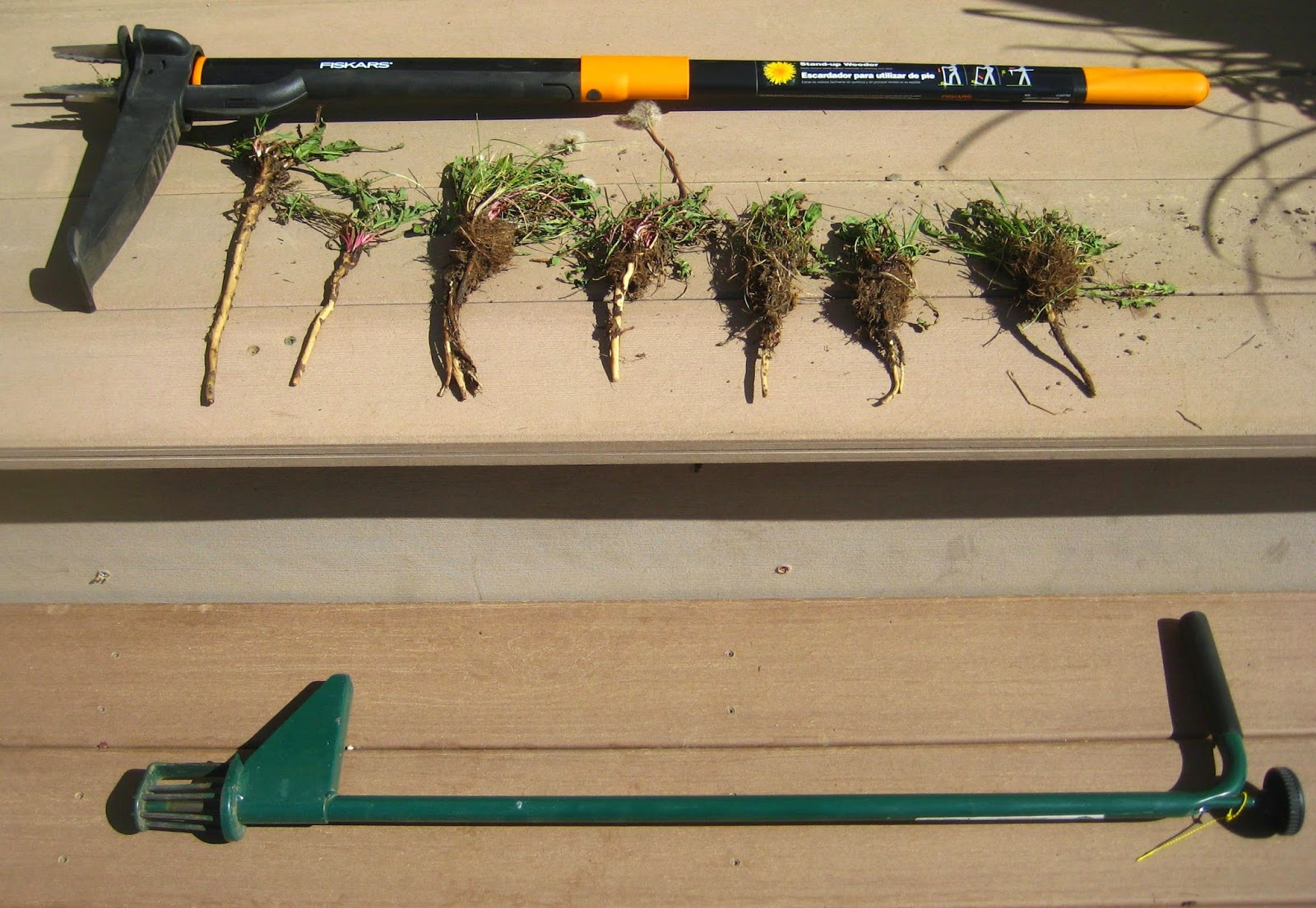 Weed-pulling tools
