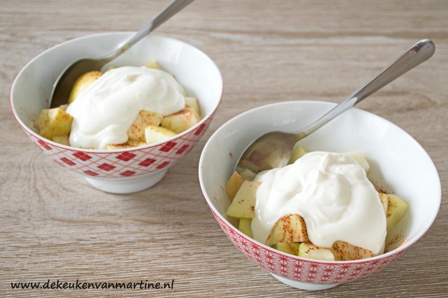 Dessert Met Mascarpone En Griekse Yoghurt