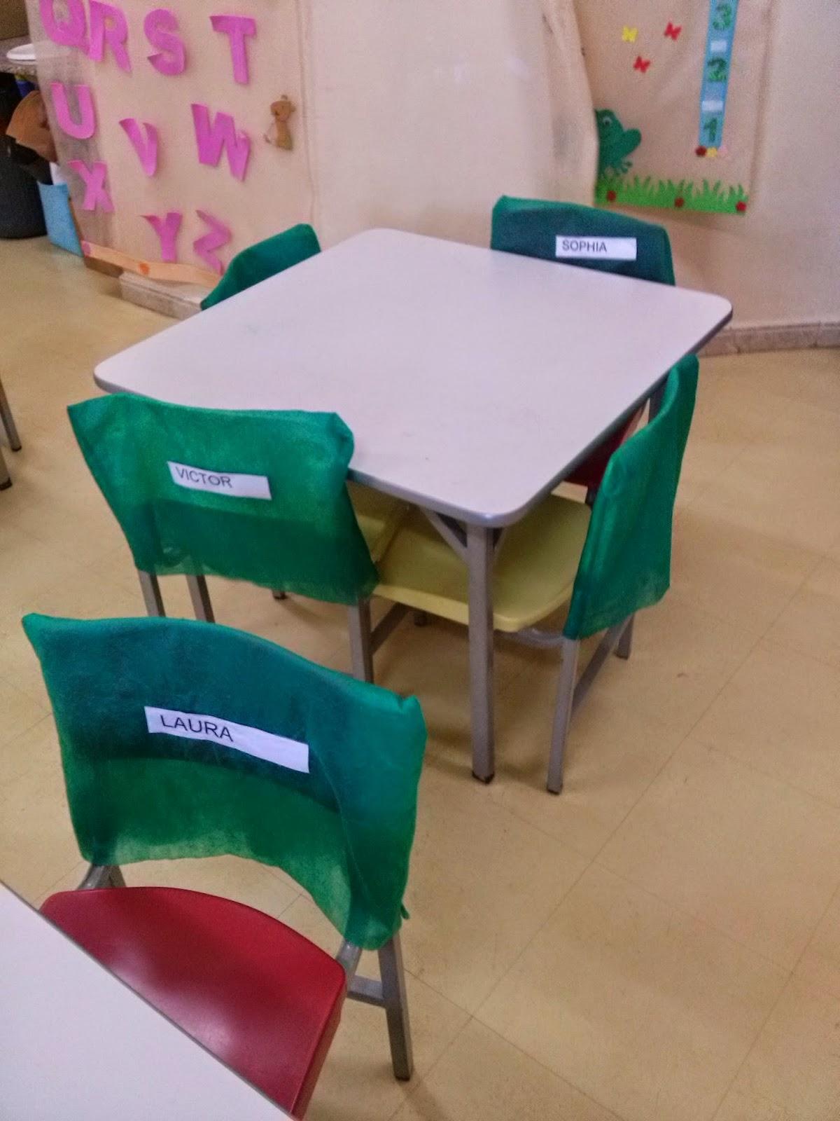 Resultado de imagem para cadeiras com nome de criança