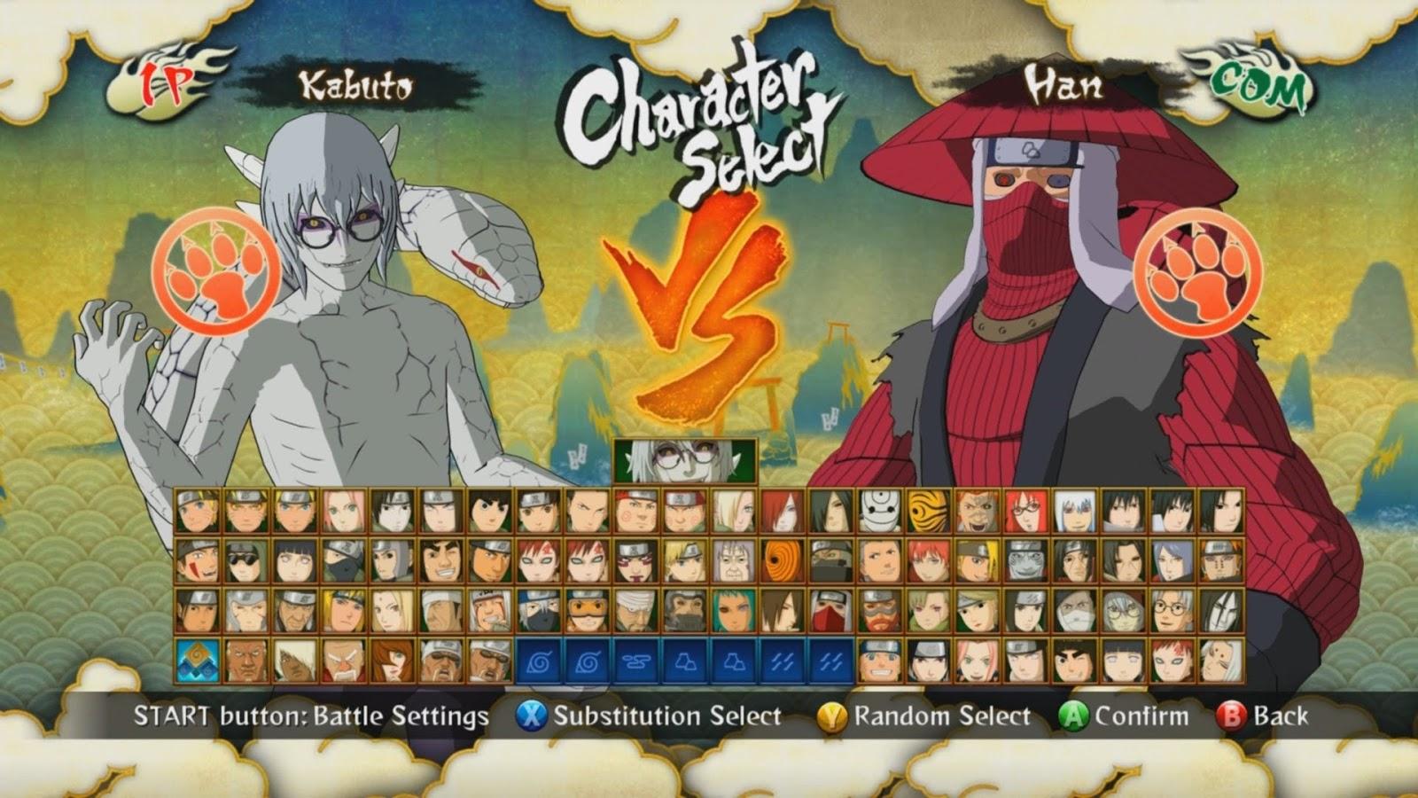 cara unlock karakter naruto ultimate ninja 5 ps2