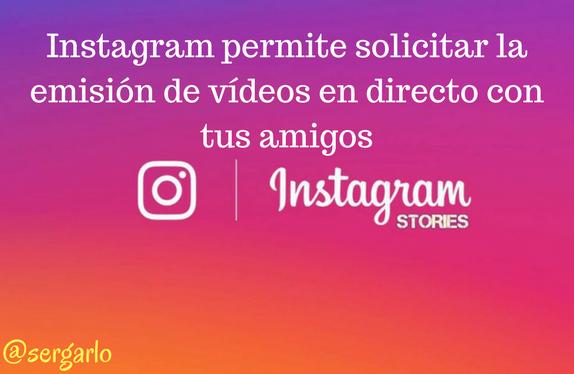 Instagram, redes sociales, vídeos, directo, stories, amigos, social media