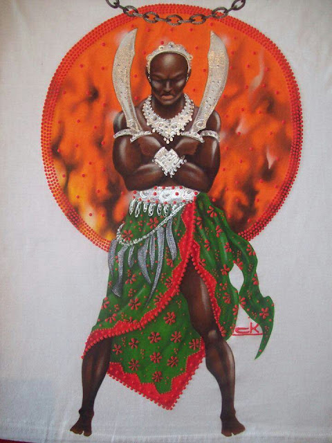 Batuque do Rio Grande Sul Lendas dos Orixás Ogum Orixás Religião Afro  - Ogum e o segredo do ferro
