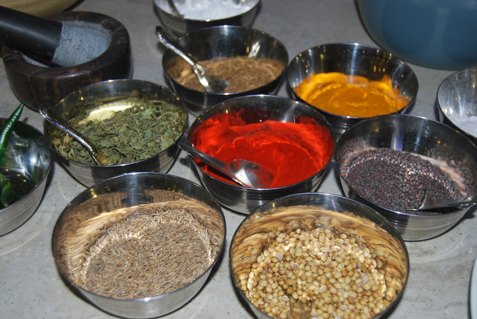 Indian spices #CookWithHari photo by Modern Bric a Brac