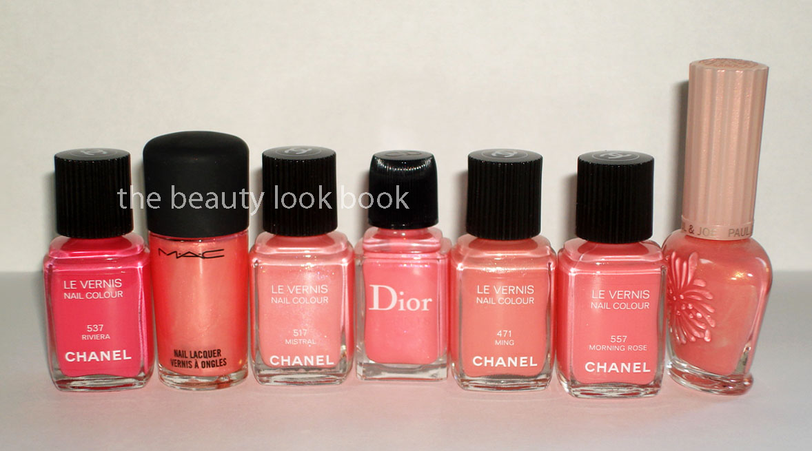 Chanel Le Vernis Color Comparisons For Morning Rose Amp Beige P 233 Tale The Beauty Look Book