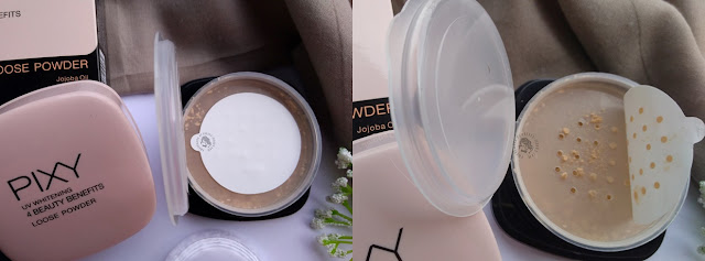 Review Pixy 4BB Loose Powder, pretty-moody.com