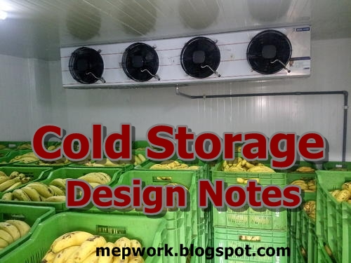 Download a collection of cold storage design notes -  PDF Books for design of cold stores