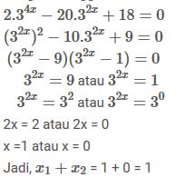 Contoh Soal dan Pembahasan - Persamaan Eksponen - Mathematics 34f84b3aeb