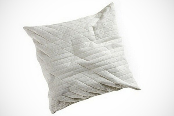 cool pillow design with origami texture