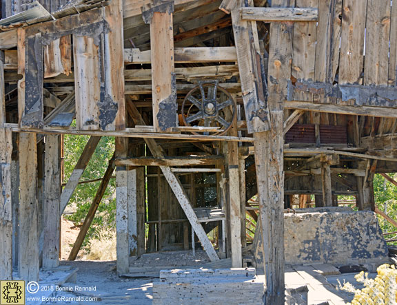 Inside view of Chemung Mill