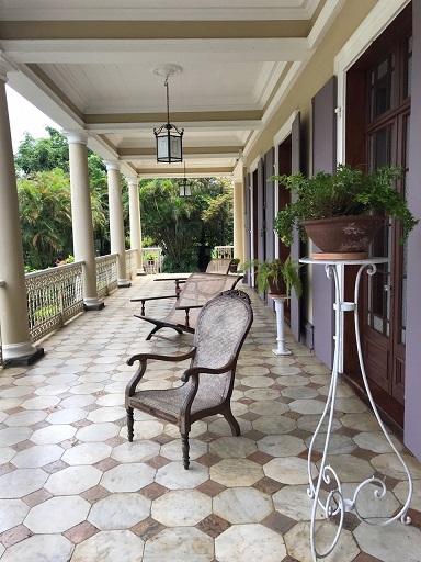 La Table du Chateau, Mauritius, Domaine de Labourdonnais