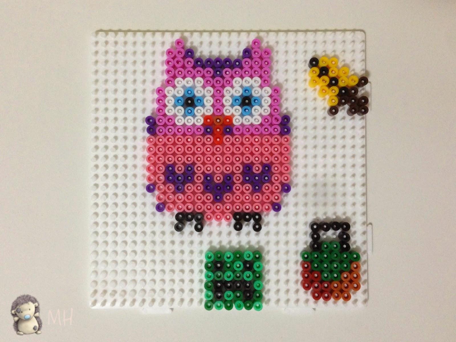 Figuras con hama beads