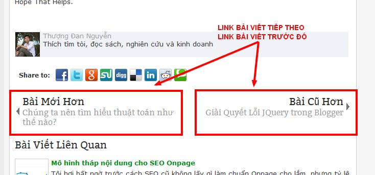Link bài viết tiếp theo và Link bài viết trước đó