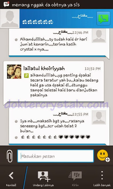 Testimoni Manfaat Crystal X Asli NASA 2