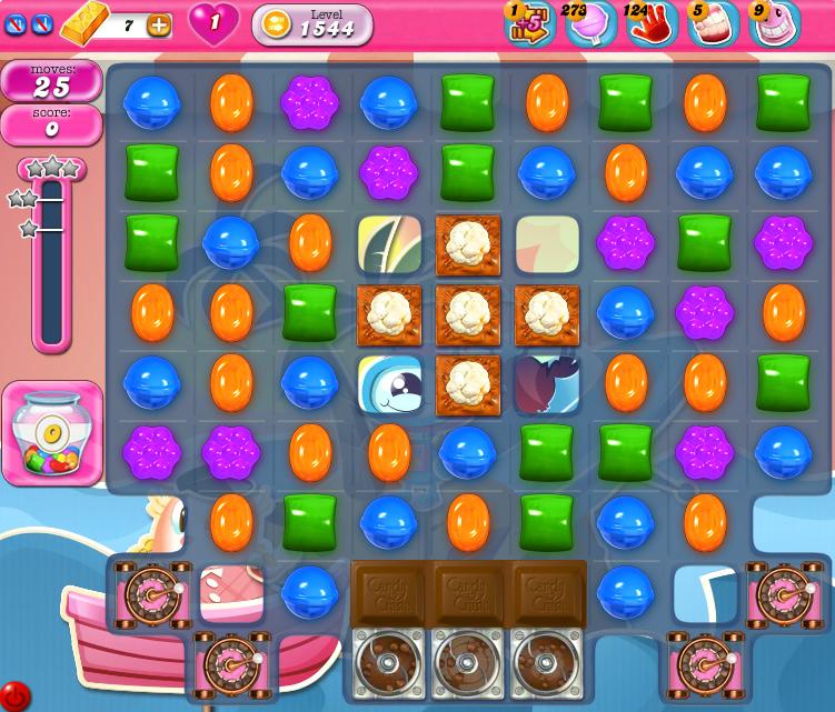 Candy Crush Saga 1544