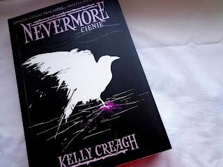 """Nevermore. Cienie."" - Kelly Creagh"