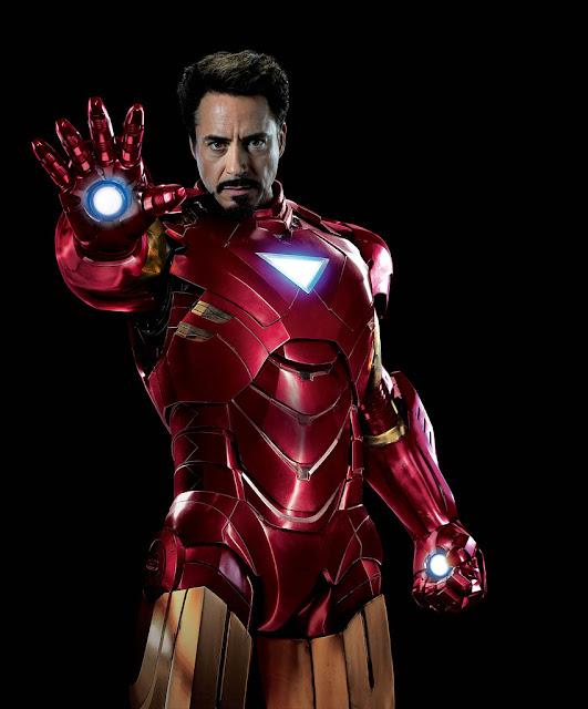 Robert Downey as Iron Man
