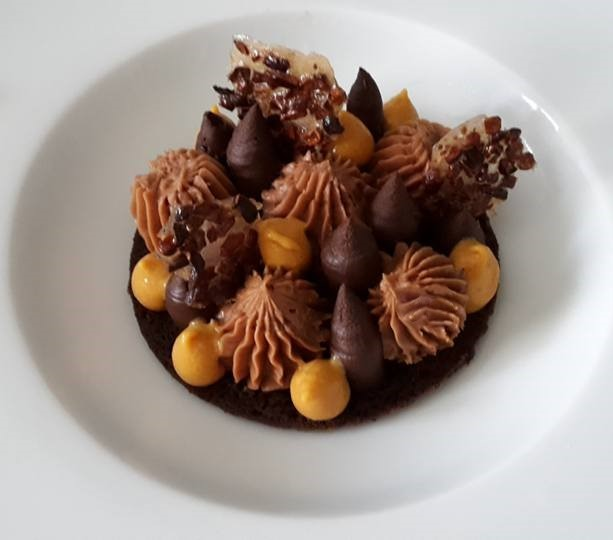 Sable Au Chocolat Caramel By Delices