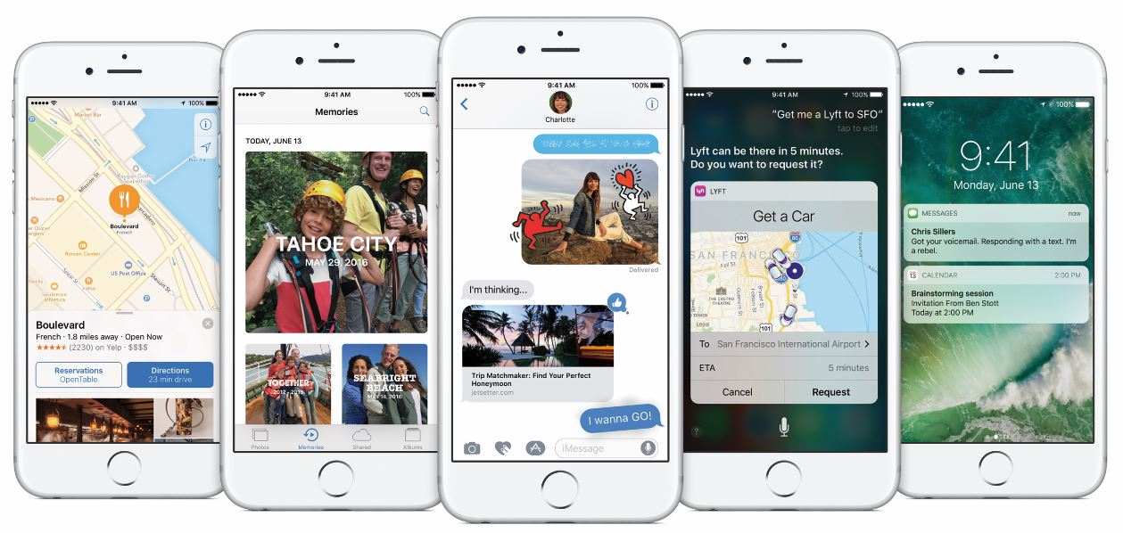 Apple sets release of iOS 10, the 'biggest iOS release ever'