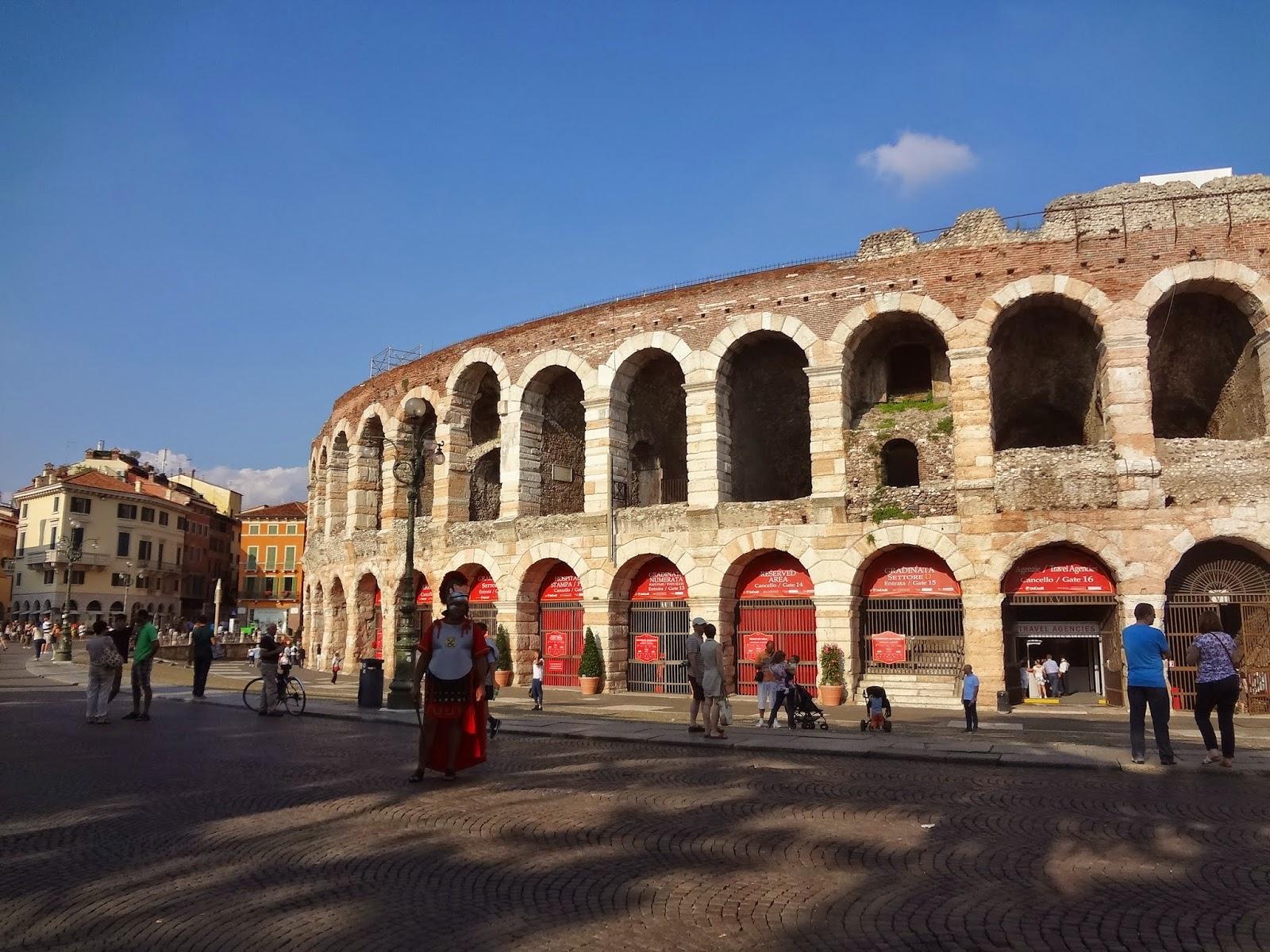 Arena de Verona. Italia