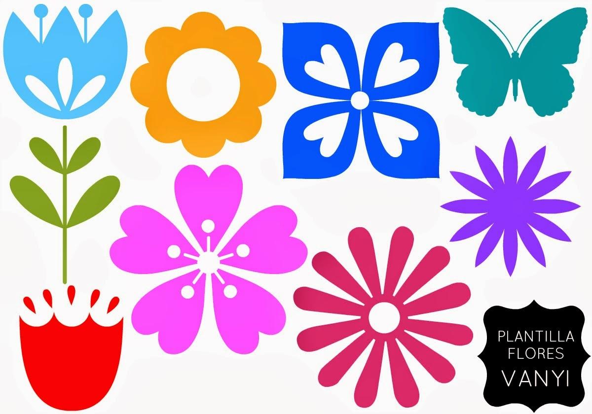 Sgblogosfera mar a jos arg eso plantillas para hacer flores - Plantillas para decorar ...