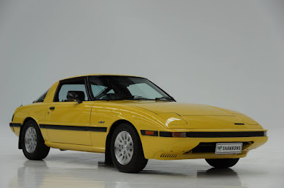 Series 3 Mazda RX-7 up for auction