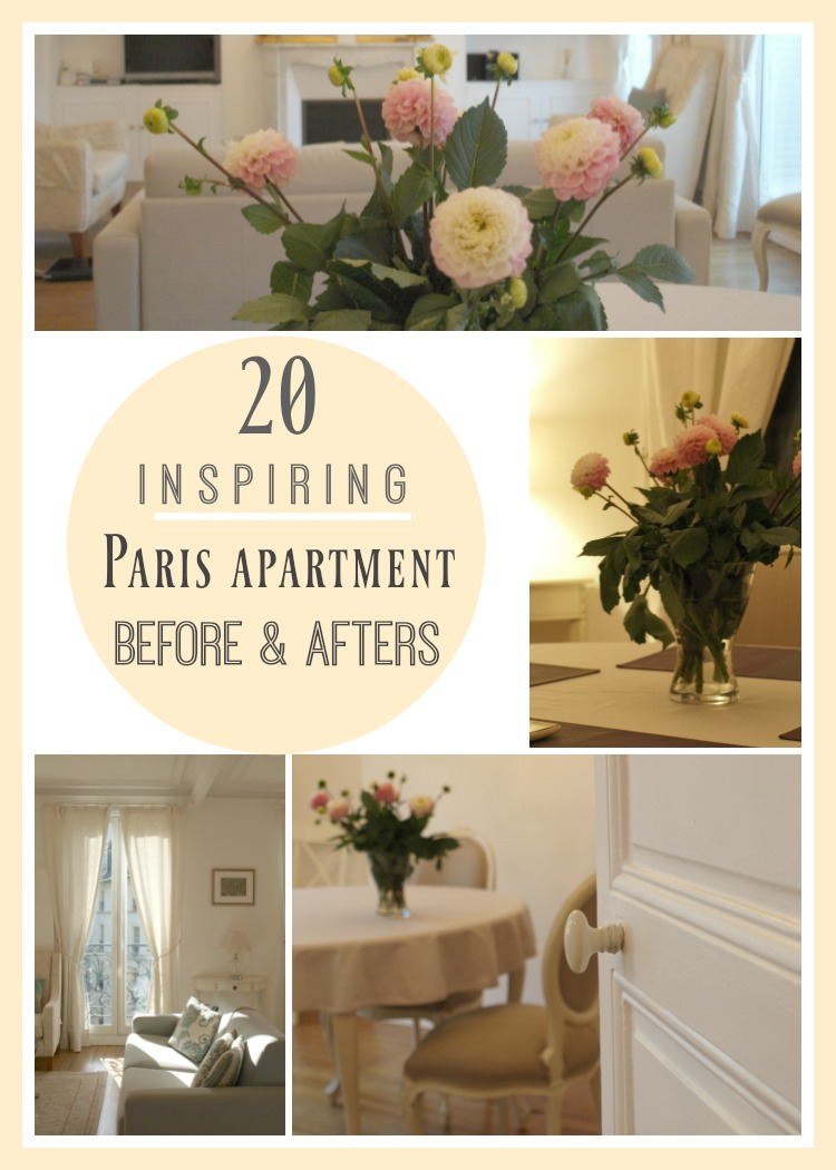 20 Inspiring Paris Apartment Before and Afters Banner