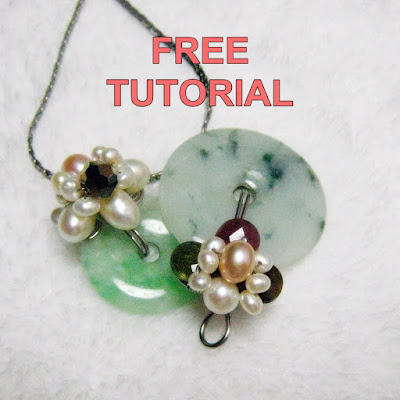 Wire Wrapped Donut Pendant Tutorial at WireBliss Craftsy