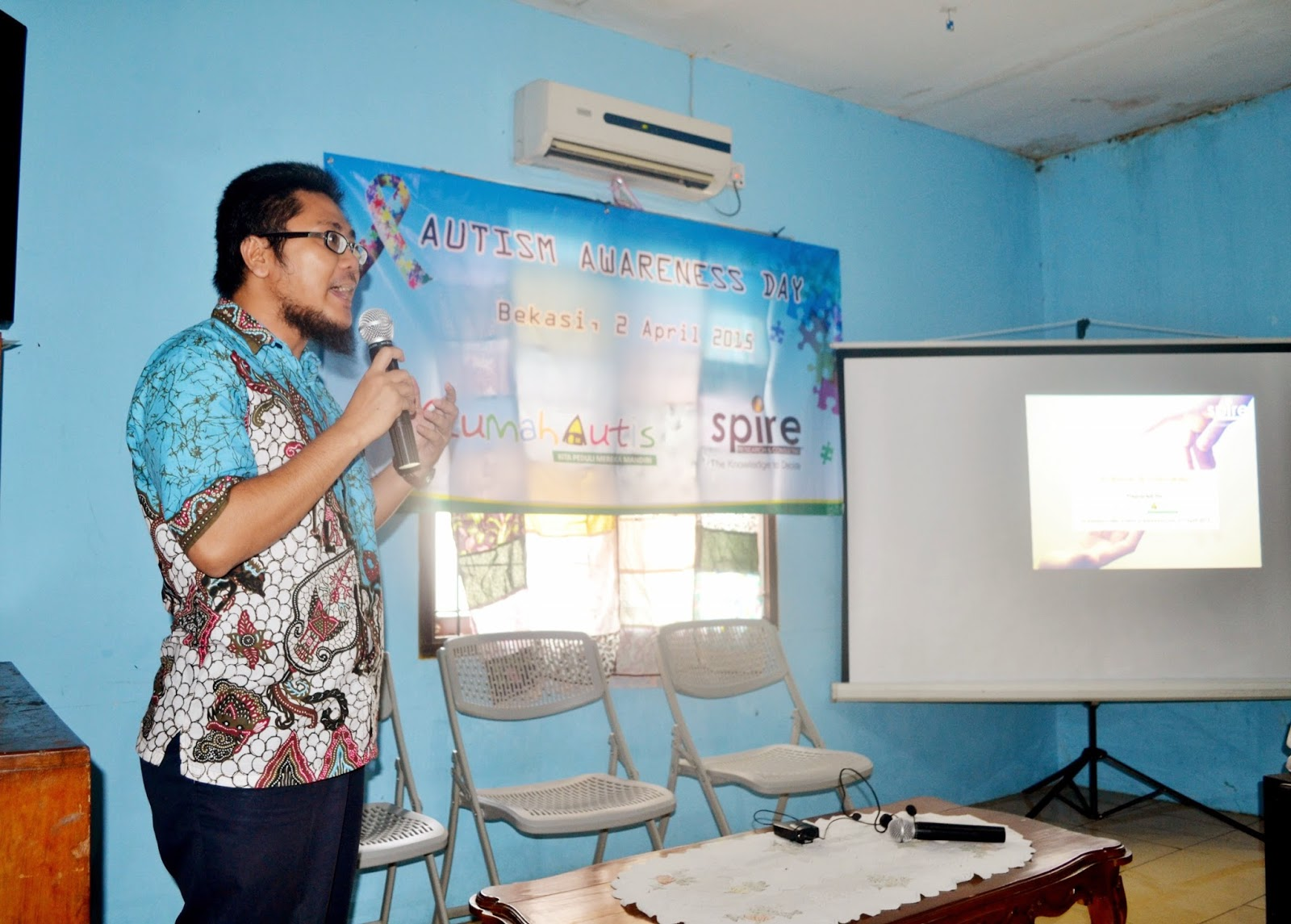"Open House Rumah Autis Bekasi peringati ""World Autism Awareness Day 2015"""