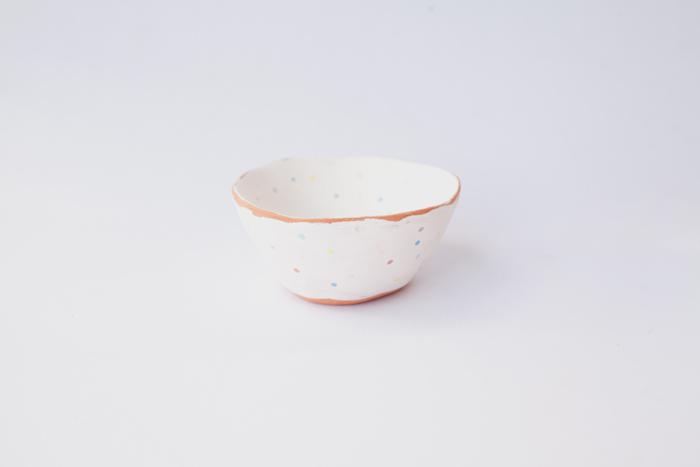 ceramic terracotta bowl