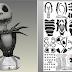 Papercraft Jack o Esqueleto Busto 44cm