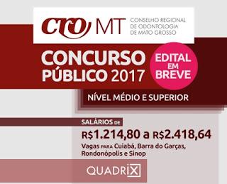 Apostila concurso CRO/MT 2018 - Nível médio e superior