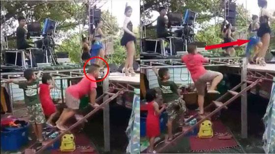 Video Lucu! Aksi Joget Bocah Ini Lebih Heboh Dari Penyanyinya