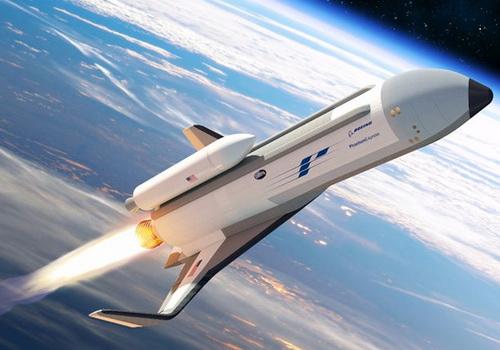 Tinuku Boeing and DARP design Phantom Express spaceplane