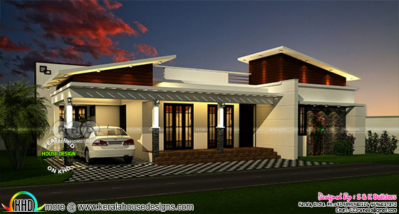 New model contemporary home