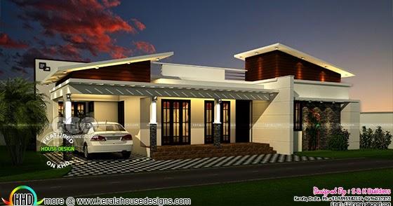 New Model Contemporary Home Kerala Home Design And Floor
