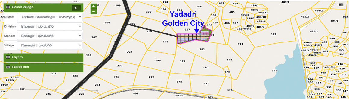 Yadadri Golden City