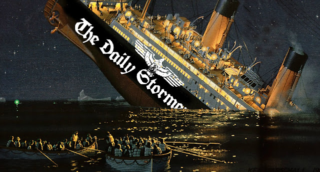 DAILY STORMER HITS ICEBERG IN ICELAND