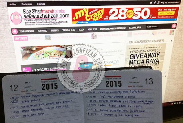 jadual-entry-untuk-blogger