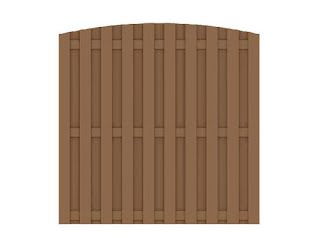 Wood Plastic Composite Fencing 1