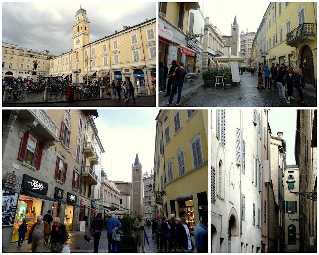 Parma city scenes