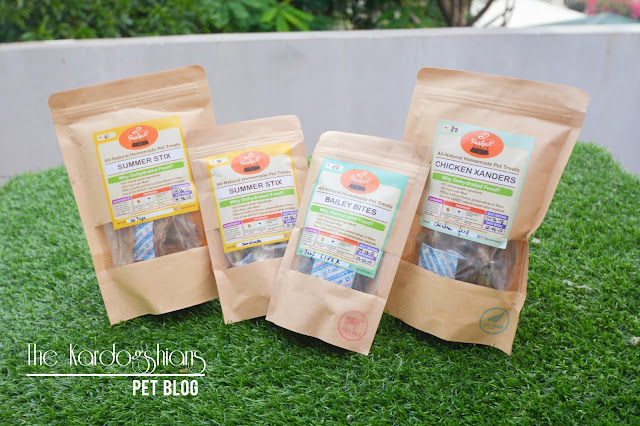 All-Natural Pet Treats by PAWFECT PLATE
