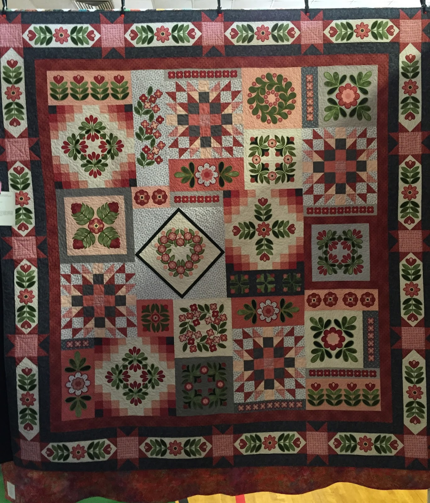 Sampler Quilts on Pinterest Quilts, Quilting and Block Of The Month