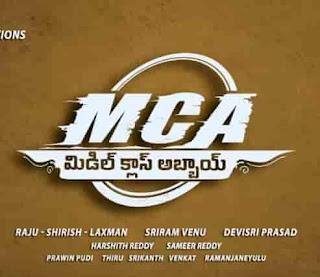 MCA Middle Class Abbayi Naa Songs