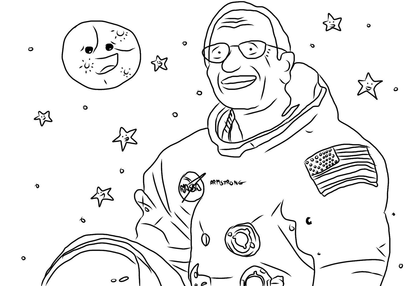 Favour in Fun: Neil Armstrong