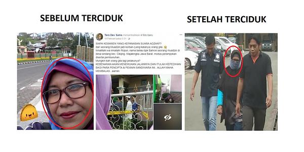 Dosen Wanita UII Anggota MCA Sebar Hoax, Niat Jihad dengan cara Jahat