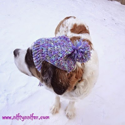 Niftynnifers Crochet Crafts Free Crochet Pattern A Silly Hat