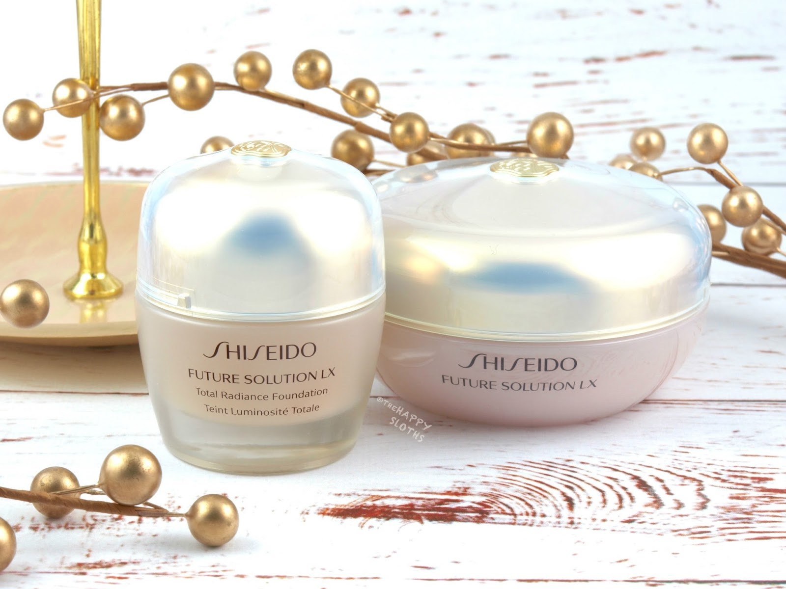Shiseido | Future Solution LX Total Radiance Foundation & Loose Powder: Review