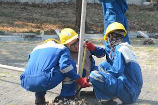 Pertamina RU VI Berikan Pelatihan Scaffolding Kepada Pemuda Di Wilayah Kerjanya
