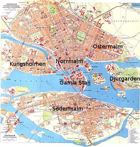 carte de stockholm